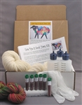Ewe Dye-It Sock Yarn Kit