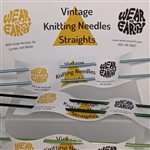 Vintage Knitting Needles Straights