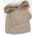 Slipper Bottom Suede: 2-piece