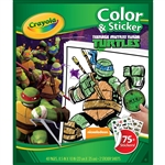 Crayola Color & Sticker Teenage Mutant Ninja Turtles