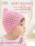 Baby Beanies made with the Knook