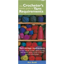 (The) Crocheter's Handy Guide to Yarn Requirements