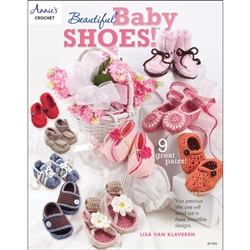 Annie's Crochet Beautiful Baby Shoes!