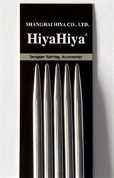HiyaHiya Stainless Steel Double Point 6""