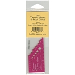 Lacis: tatting Needle & Picot Gauge