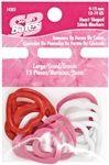 Susan Bates: Stitch Markers Heart-Shaped Lg