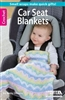 Leisure Arts: Crochet Car Seat Blankets