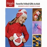 Threads: Favorite Felted Gifts To Knit