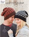 Annie's Attic: Learn to Crochet Mosaic Hats