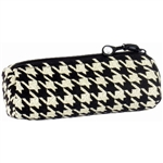 Ebony Houndstooth Project Bag