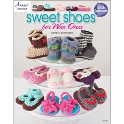 Annie's Crochet Sweet Shoes