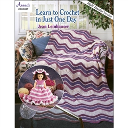 Annie's Learn to Crochet in Just One Day