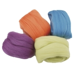 Clover: Natural Wool Roving