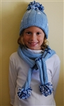 Snowflake Hat and Scarf Kit