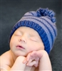 Little Boy Blue Infant Hat and Booties Kit