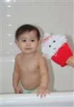 Child's First Wash Cloth Santa Kit