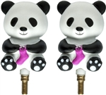 HiyaHiya Interchangeable Cable Stopper Panda Li Small