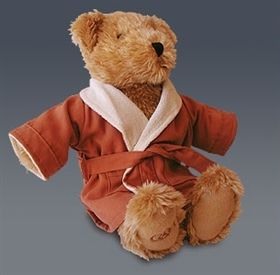 doeskin robe teddy bear