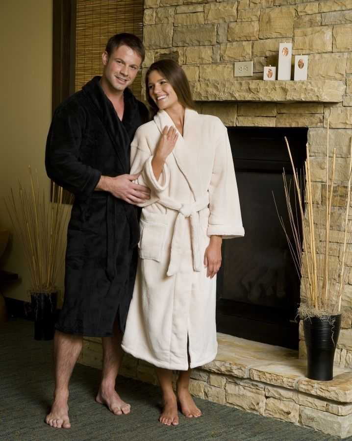 bf5837509f Unisex Monogrammed Bathrobes. Nothing beats enjoying a relaxing weekend  getaway in a plush spa robe from ...