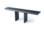 Countertop support bracket - Center Levered for bar tops