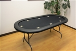"8 PLAYER 72"" POKER TABLES"
