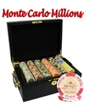 MONTE CARLO MILLIONS WITH BLACK MAHOGANY CASE