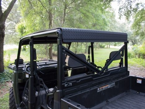 Polaris Ranger Crew 900 And XP 570 6 Aluminum Roof   MK1