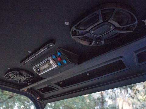 2015 Polaris Ranger >> Stereo Roof with LED for Polaris Ranger Standard Cab MK5