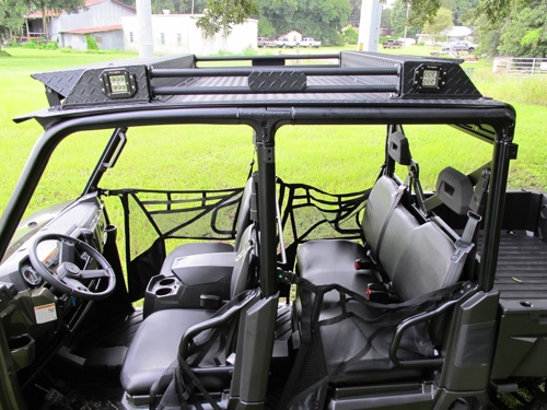 Polaris Ranger Crew Xp 570 And 900 Roof With Stereo And