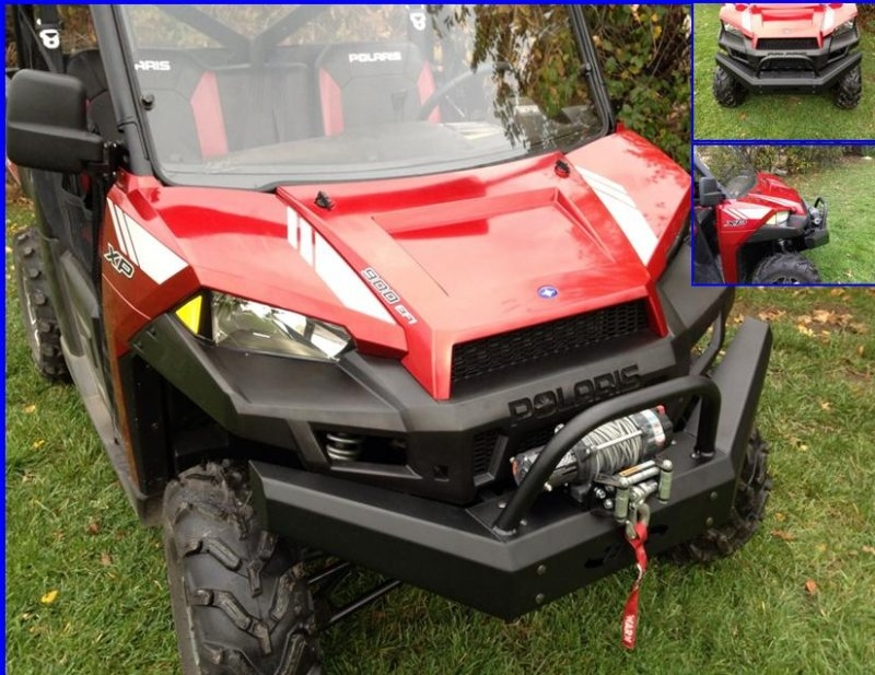 Polaris Ranger 900 And 570 Front Bumper Brush Guard With