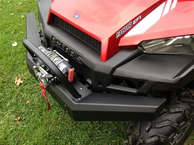2015 Polaris Ranger >> Polaris Ranger 900 and 570 Front Bumper Brush Guard with Winch Mount