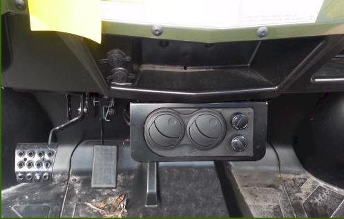 Firestorm Compact Cab Heater For Polaris Ranger 800 And