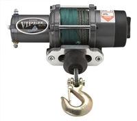 Viper Elite Winch with Kawasaki Mule PRO Mount Kit - MotoAlliance