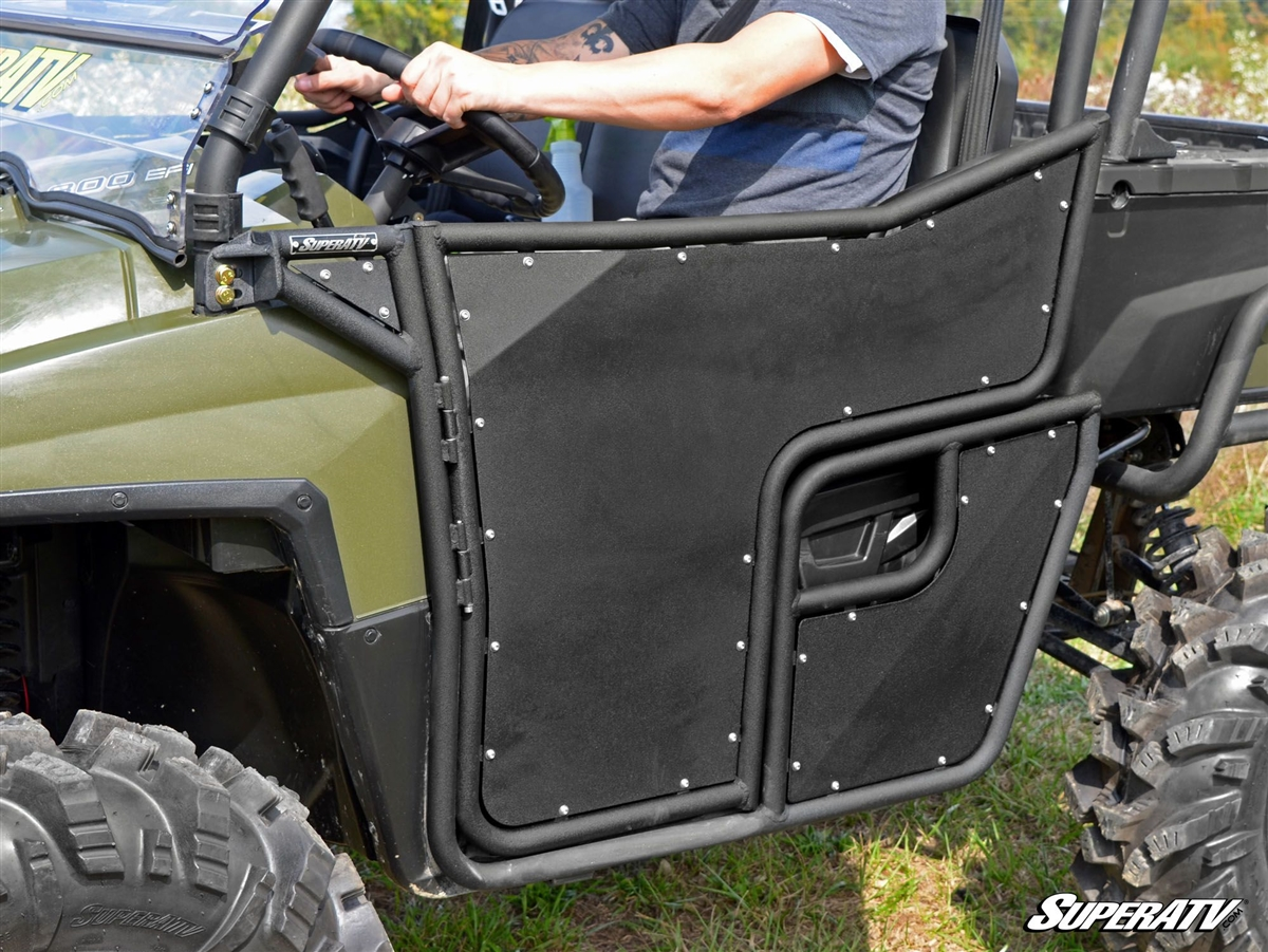 Polaris Ranger 800 570 Full Size Aluminum Half Doors SuperATV & Polaris Ranger 800 and 570 Full Size Aluminum Half Doors SuperATV pezcame.com