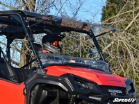 Honda Pioneer 1000 1000-5 Scratch Resistant Full Flip Window Windshield SuperATV