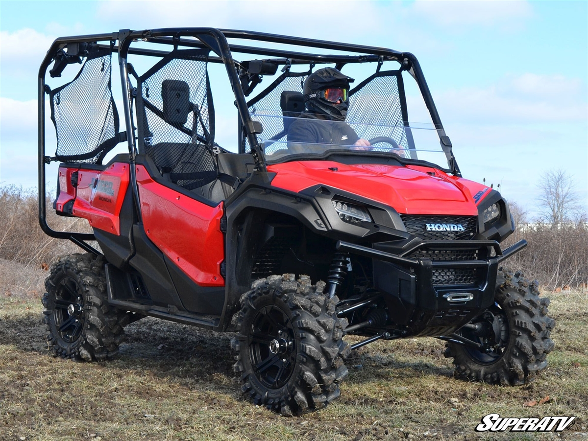 Honda Pioneer 1000 1000 5 Half Window Windshield By Superatv