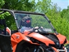 Can-Am Maverick Scratch Resistant Vented Full Windshield Window - SuperATV