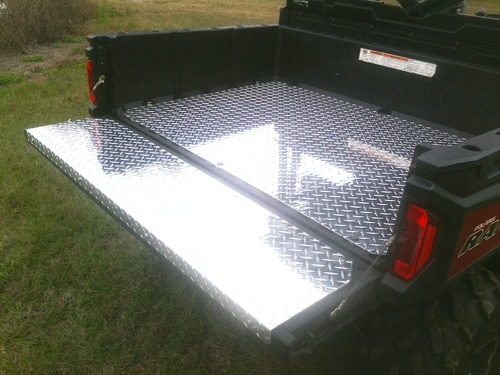 Polaris Ranger Bed And Tailgate Liner Aluminum