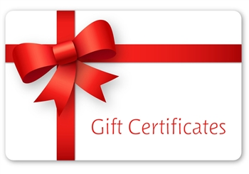 organic body care gift certificates