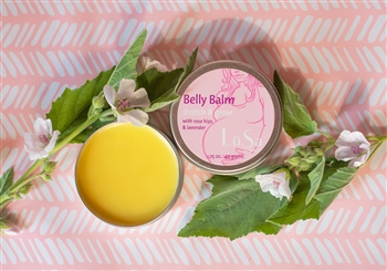 belly balm organic skin care lavender