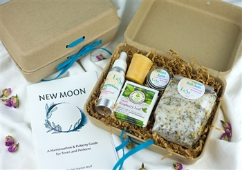 new moon menstruation collection for preteen teen