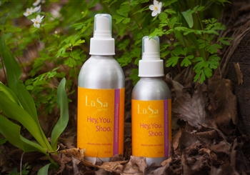 natural insect repellent essential oil blend, lemon eucalyptus and cedar