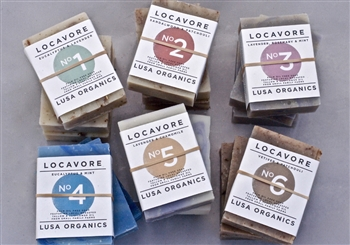 all-natural locavore handmade soap