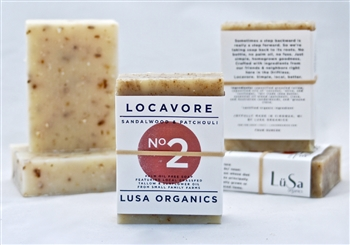 sandalwood patchouli palm oil free organic soap