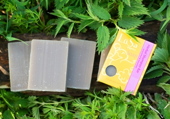 unscented organic herbal shampoo bar