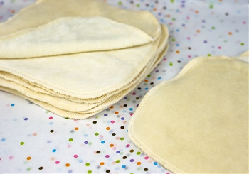 organic unbleached cotton baby wipe set