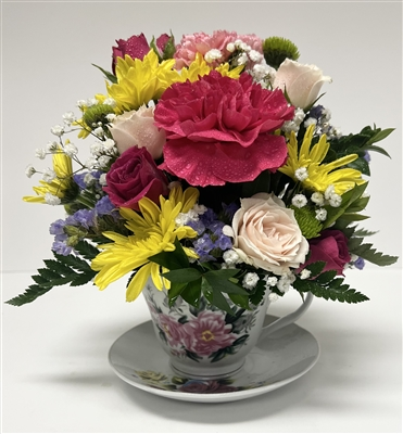 Teacup Bouquet