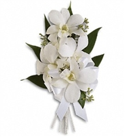 Graceful Orchids Corsage