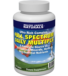 Multivitamin Supplement, Multi-Vitamin Tablet