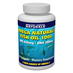 Omega 3 Fish Oil Supplement, Purified Fish Oil, Omega 3 Supplements